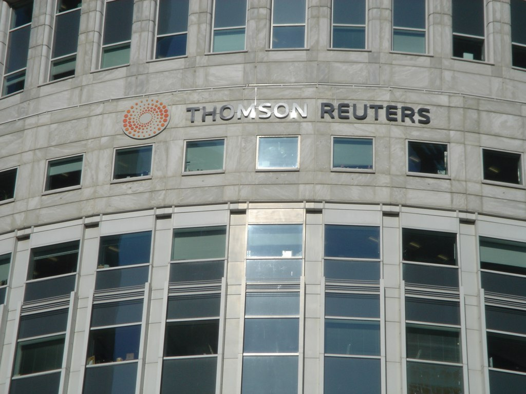 Thomson Reuters has a good year despite sell-off