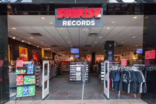 HMV transforms to Sunrise Records 1