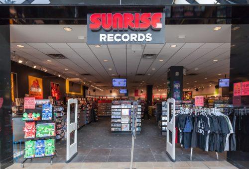 HMV transforms to Sunrise Records 1