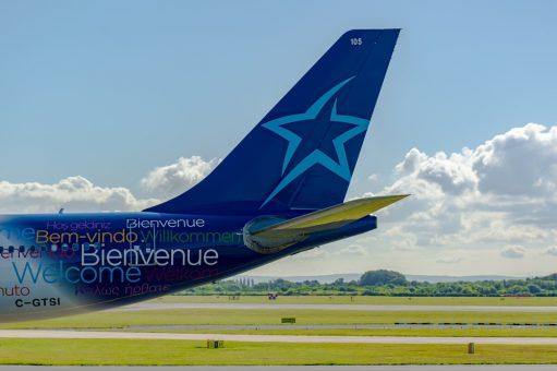 Air Transat Airbus A330 tail