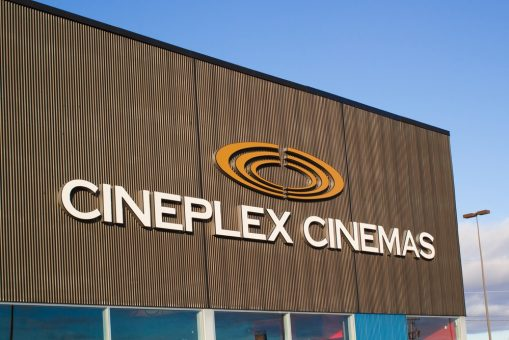 Cineplex Cinemas Theater Sign