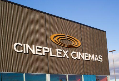 Cineplex Cinemas Theater Sign