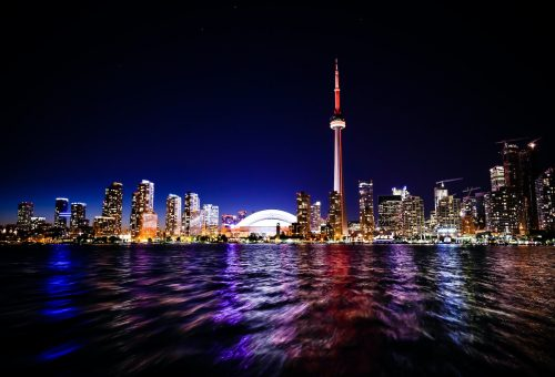 This picture show the city of Toronto.